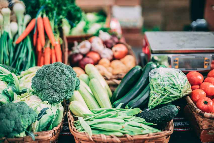 Alimentos de temporada, más sostenibles