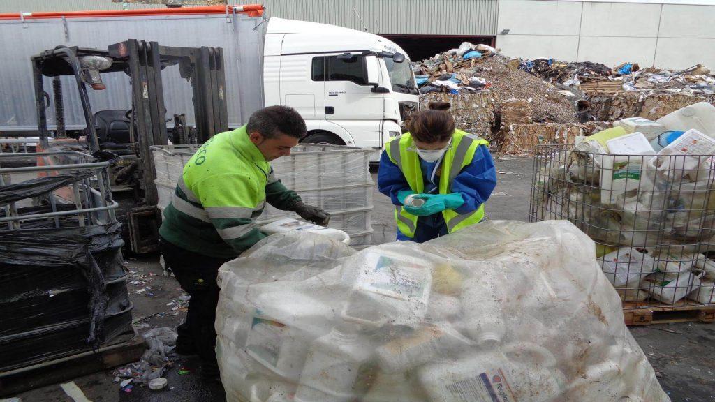 residuos plásticos agrarios